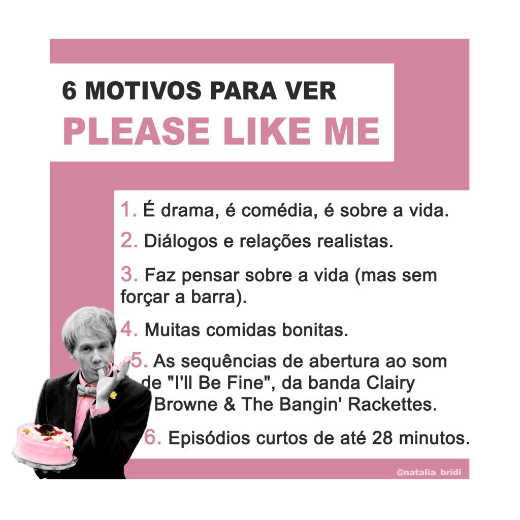6 motivos para ver Please Like me